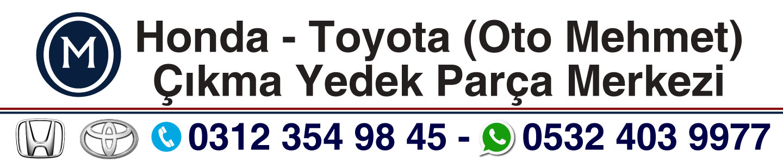 Honda – Toyota Çıkma Parça (Oto Mehmet) 0532 403 9977