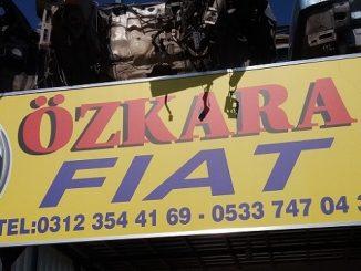 Fiat Çıkma Parça, Özkara Fiat, Fiat Yedek Parça